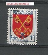 * 1955 N° 1047  COMTAT VENAISSIN   OBLITÉRÉ - Errors & Oddities
