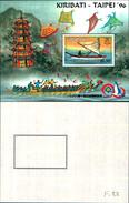 86709) Kiribati- Gomma Integra, Non Linguellato 1996 Kiribati CANOA Taipei 96- - Kiribati (1979-...)