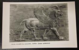Alte Ansichtskarte Griffin / Griffon Erscheint Elam Im Späten Vierten Jahrtausend Vor Christus Ägypten - Museen