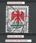 * 1958 N° 1184 NICE  PHOSPHORESCENTE  OBLITÉRÉ - Abarten Und Kuriositäten