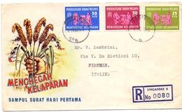 MALASIA AGRICOLTURE R SINGAPORE 1963 (GEN170160) - Agricoltura