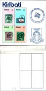 86715) Kiribati FRANCOBOLLI-SIR ROWLAND HILL SHEETLET 1979 MINISHEET FINE MINT MNH/MUH - Kiribati (1979-...)