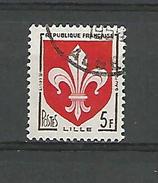 * 1958 N° 1186 LILLE   PHOSPHORESCENTE  OBLITÉRÉ - Errors & Oddities