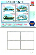 86716) 1984 KIRIBATI SHIPPING CORPORATION MINISHEET FINE MINT MNH/MUH - Kiribati (1979-...)