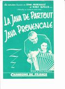 """Partition Accordéon Ou Violon: """"La Java De Partout"""", """"Java Provençale"""",  Dino MARGELLI Et Nady SYLLA - Musique & Instruments"""