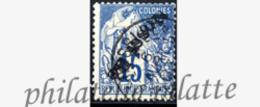 -Nossi-bé 24A Obl Variété Surcharge Renversée - Nossi-Bé (1889-1901)
