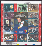 BELGIQUE 2006 Nº 3488/99 EN HB USADO 1º DIA - Bloques 1962-....