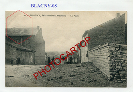 BLAGNY-La POSTE-Periode Guerre 14-18-1 WK.-France-08-Feldpost 91- - Other Municipalities