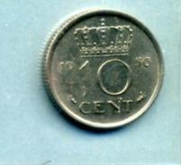 1956 10 CENTS - [ 3] 1815-… : Royaume Des Pays-Bas