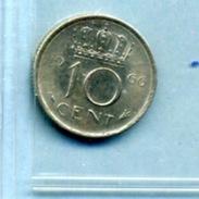 1966 10 CENTS - [ 3] 1815-… : Royaume Des Pays-Bas