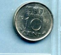 1965 10 CENTS - [ 3] 1815-… : Royaume Des Pays-Bas