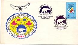POLAR ,EXPEDITION CANADA 1992 ROMANEASCA   (GEN170162)