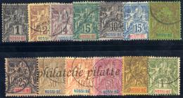 -Nossi-bé 27/39 Obl - Nossi-Bé (1889-1901)