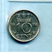 1972 10 CENTS - [ 3] 1815-… : Royaume Des Pays-Bas