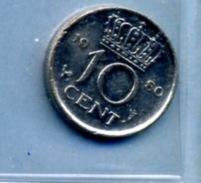1980 10 CENTS - [ 3] 1815-… : Royaume Des Pays-Bas