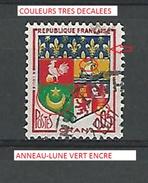 * 1960 N° 1230 A ORAN   PHOSPHORESCENTE  OBLITÉRÉ - Abarten Und Kuriositäten