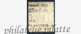-Nossi-bé Taxe  1c Obl Variété Surcharge Au Verso - Nossi-Bé (1889-1901)