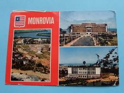 MONROVIA ( République Of Liberia ) Executive Mansion Capitol Building And .......... Anno 19?? ( Zie Foto Details ) !! - Liberia