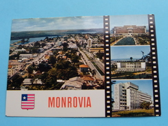 MONROVIA ( République Of Liberia ) Broad Street, Ashmunstreet And Pioneers Island..... Anno 19?? ( Zie Foto Details ) !! - Liberia