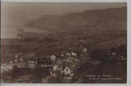 Chernex Sur Montreux Et Vue Sur Vevey Et Le Mt. Pelerin - Photo: Perrochet-Matile No. 2760 - VD Vaud