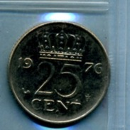 1976 25 CENTS - [ 3] 1815-… : Royaume Des Pays-Bas