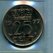 1977  25 CENTS - [ 3] 1815-… : Royaume Des Pays-Bas