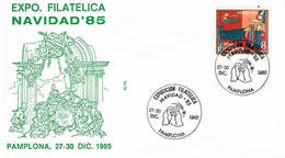Spanien Brief Aus Pamplona - Weihnachten, Krippe, Navidad - 1931-Heute: 2. Rep. - ... Juan Carlos I