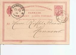 Danemark ( EP De 1894  Vers L'Allemagne à Voir) - 1864-04 (Christian IX)
