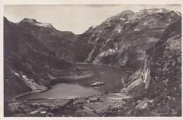 Norge, Norway, Noorwegen, Utsigt Over Geirangerfjorden (pk33284) - Norvège