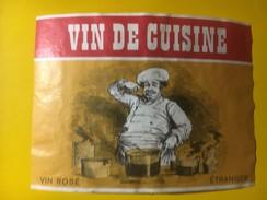 3394 - Vin De Cuisine Rosé Etranger - Rosés