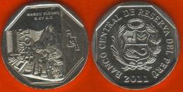 """Peru 1 Nuevo Sol 2011 """"Machu Picchu"""" UNC - Pérou"""