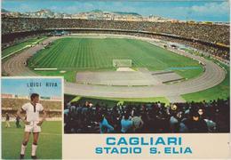 STADIO  SAN ELIA (  CAGLIARI) -F/G  COLORE  (271014) - Calcio
