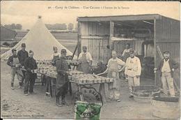 CAMP DE CHALONS LHEURE DE LA SOUPE - Châlons-sur-Marne