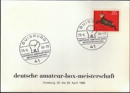 Germany Duisburg 1966 / German Amateur Boxing Championship - Boxeo