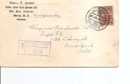 Mexique ( Lettre Recommandée De 1940 Vers Les USA à Voir) - Mexico