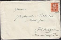 DR  466 EF Auf Brief Mit Inhalt, Stempel: Stuttgart 25.7.1932 - Duitsland