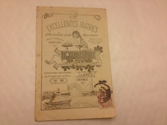 Huitres BABADIE, 1907/1908 Petit Catalogue Publicitaire - Advertising