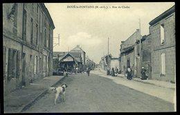 Cpa  Du  49  Doué La Fontaine - Rue De Cholet  NCL35 - Doue La Fontaine
