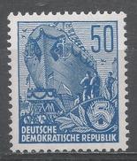 German Democratic Republic 1955. Scott #230 (MNH) Launching Ship * - [6] Democratic Republic