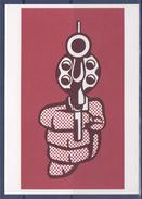 "Roy Lichtenstein  Carte Postale, ""Pistol"" 1964, Lithographie - Paintings"