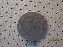 INDONESIA 50 Rupiah 1971  # 3 - Indonésie