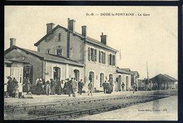 Cpa  Du  49  Doué La Fontaine - La Gare --  NCL35 - Doue La Fontaine