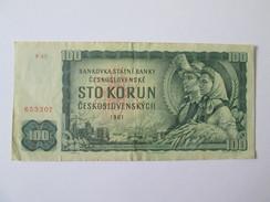 Czechoslovakia 100 Korun 1961 - Tchécoslovaquie