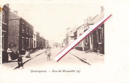 QUAREGNON - Rue De Monsville - Superbe Carte Animée (voir Scans) - Quaregnon