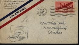 Pays Bas Nederland USA APO 339 Maastrich Occupation Américaine World War II Tweede Wereldoorlog YT Ae US 26 - Poststempels/ Marcofilie