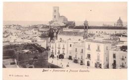 Bari Panorama E Piazza Castello - Bari