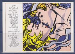 """Roy Lichtenstein Carte Postale """"We Rose Up Slowly ..."""" 1964 """"Nous Nous Levâmes Lentement..."""" - Paintings"""