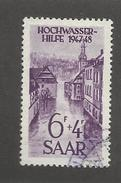 SARRE - N°YT 245 OBLITERE - COTE YT : 24€ - 1948 - 1947-56 Protectorate