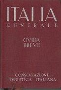ITALIA PARTE 2 - A Cura Del T.C.I. - Edizione 1939  (251110) - Carte Topografiche