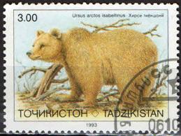 TAGIKISTAN - 1993 - ORSO - USATO - Tagikistan